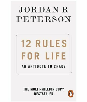 AU22.18 • Buy 12 Rules For Life An Antidote To Chaos By Jordan B. Peterson (English,Paperback)