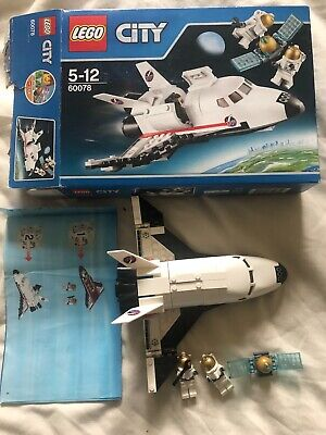 Lego City 60078, Space Shuttle, 2 Astronauts & A Satellite. • 5£
