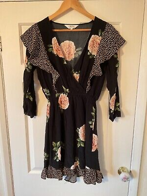 Nine Savannah Miller Women's Floral Dress Size 8 • 0.99£