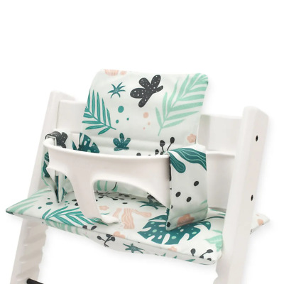 £16.99 • Buy JOLLEIN Highchair Support Insert Cushion For Growth Chair - Leaves Print