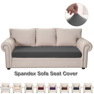 Stretch Cushion Covers Sofa Cushion Furniture Protector Sofa Seat Slipcover Soft • 7.49£