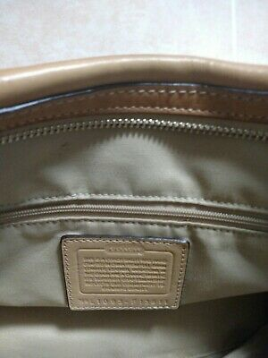 $ CDN53.17 • Buy New Coach Purses Handbags Brown Leather { Does Have A Few Scratches }