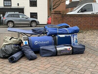 Used Camping Equipment Bundle • 66£