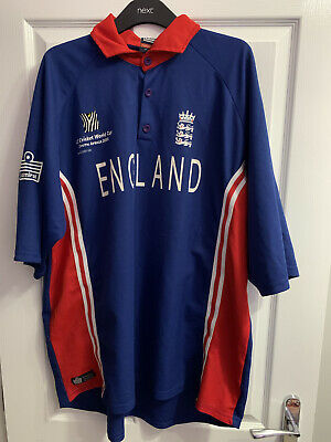 England Cricket Shirt World Cup 2003 Admiral XXL • 5£