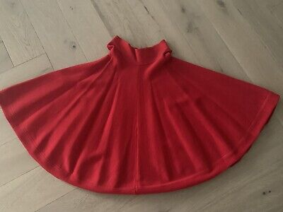 AU60 • Buy Scanlan Theodore Red Crepe Knit Skirt