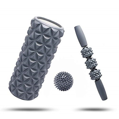 AU46.90 • Buy Fitbeast Foam Roller Set 2 In 1 For Deep Tissue Muscle Massage, Trigger Point