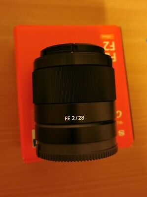 AU450 • Buy Sony FE 28mm F2 Lens For A73 A7R3