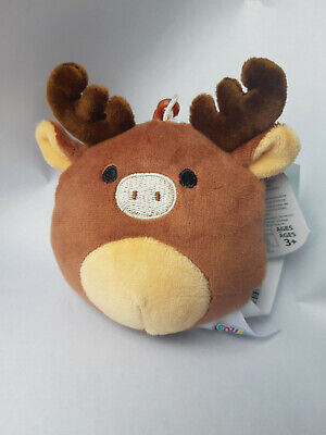 $ CDN10.40 • Buy NWT Squishmallow Maurice The Moose Clip Canada Exclusive 3.5