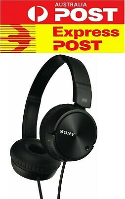 AU55 • Buy Express Sony MDR-ZX110NC Wired Noise Cancelling On-Ear Stereo Headphones Black