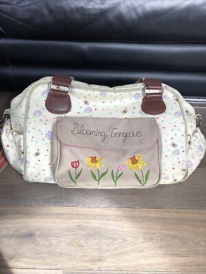 Pink Lining Yummy Mummy Blooming Gorgeous Changing Bag • 4.50£