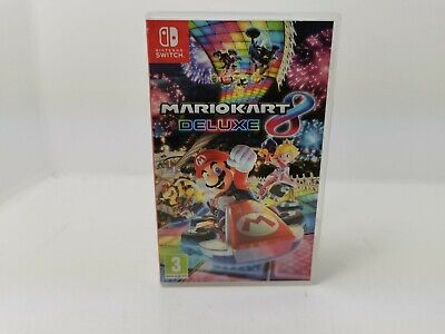 Mario Kart 8 Deluxe Video Game For Nintendo Switch • 29.95£
