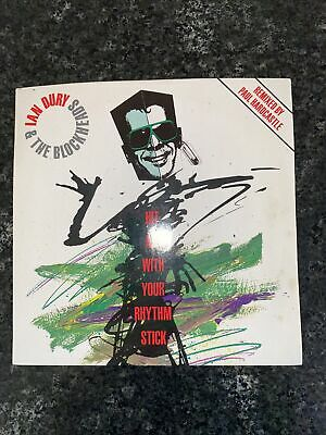 Ian Dury And The Blockheads - Hit Me With Your Rhythm Stick (Paul Hardcastle) VG • 1.59£