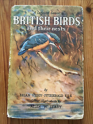 British Birds And Their Nests A Ladybird Senior 1954 Fifth Edition • 5£