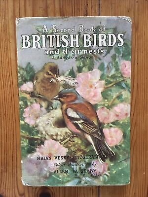 A Second Book Of British Birds And Their Nests A Ladybird Senior • 5£