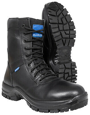 $109.87 • Buy Blueline 8  Waterproof All Leather Boots - Police/Military/Security/Paramedic