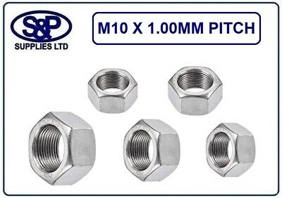 £2.31 • Buy M10 X 1.0mm Fine Pitch Hex Nut Stainless Metric Fine Pitch St/steel M10 X 1.0mm