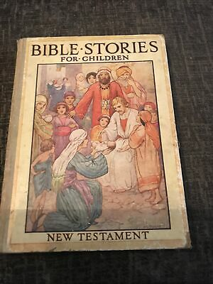 Bible Stories For Children New Testament HB By Ward  Illustrated Coloured Plates • 2.99£