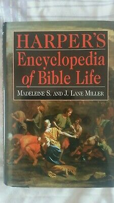 Good - Encyclopedia Of Bible Life. Fully Illustrated - Miller, Madeleine S 1996. • 4£