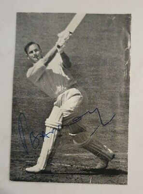 AU30 • Buy Peter May Rare Signed Magazine Picture England Cricket Ashes Captain