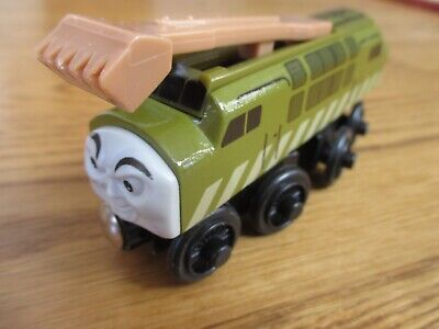 DIESEL 10 Train Engine LEARNING CURVE Fisher-Price THOMAS Friends WOODEN Railway • 9.31£