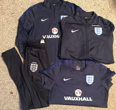 Nike 4 X DRI FIT ENGLAND Boys Training Gear Tops & Pants Size M 10 - 12 Years • 10£