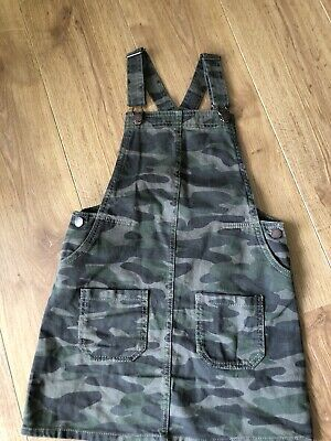 Girls Next Dungaree Dress Age 10 Years  • 4.49£
