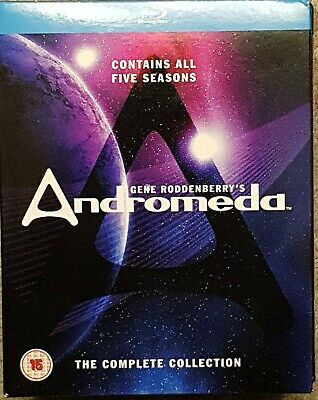 Gene Roddenberry's Andromeda: The Complete Collection [Blu-ray] [Region B] • 22£