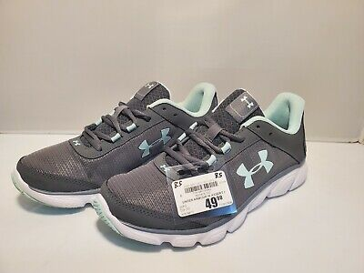 $ CDN50.60 • Buy Under Armour Women's Assert 7 Womens Athletic Shoes Gray Teal SIZE 8.5 Running