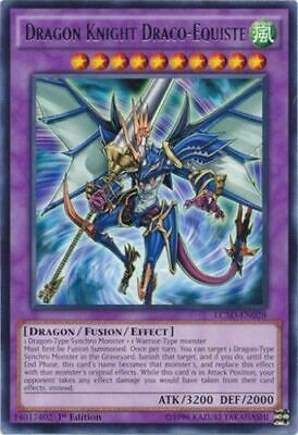 YUGIOH Dragon Knight Draco-Equiste Deck W/ Stardust Dragon Complete 42 Cards • 17.85£