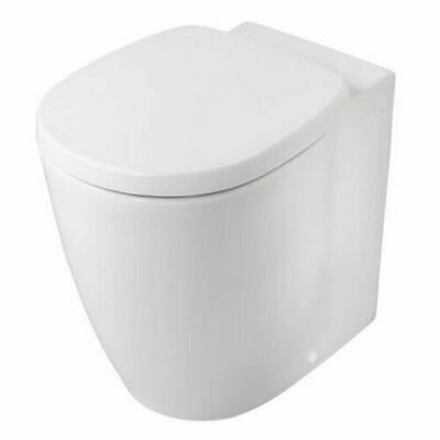Ideal Standard Concept Freedom Raised Height Back To Wall Toilet - Soft Close Se • 400£