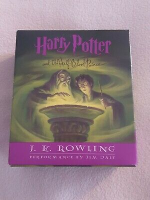 Harry Potter And The Half Blood Prince CD Set Of 17 Discs. Audio-book • 18.08£
