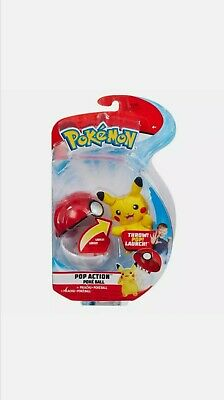 Pokemon Pop Action Poke Ball - Pikachu Mouse Soft Toy - Launch Up To 10 Feet!!  • 13.89£