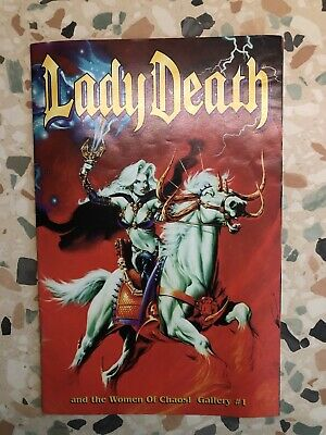 """""""Lady Death""""comic 1996 Number 1 ! • 20£"""