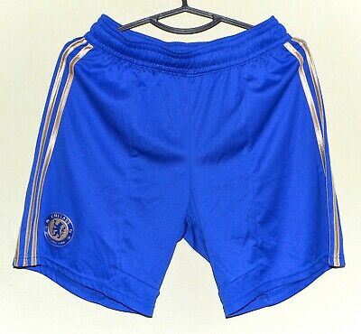 Chelsea England 2012/2013 Home Football Shorts Jersey Adidas Size M Adult • 22.99£