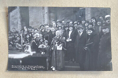 £25 • Buy Christening Of Fire Engine Chipping Norton 1932 Oxfordshire RP Postcard