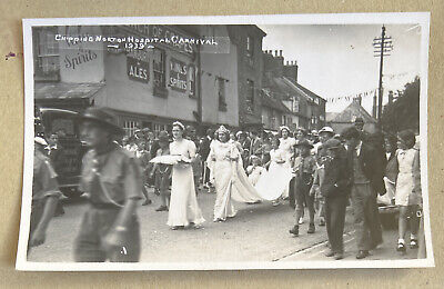 £25 • Buy Hospital Carnival Chipping Norton Oxfordshire Real Photographic Postcard