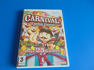 Carnival Games (Nintendo Wii, 2007) With Manuel • 5£