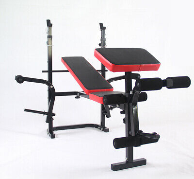 £129.99 • Buy Adjustable & Foldable Weight Bench Home Gym Training Exercise Weight Lifting