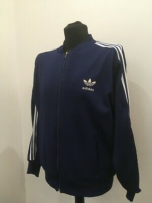 ADIDAS Track Jacket Sweatshirt Zip Top (XL) Vintage 60' West Germany Australia  • 59.99£