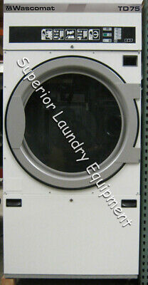 View Details Wascomat TD75 Tumble Dryer, 75Lb, 220V, 3Ph, Gas, Reconditioned • 2,700.00$
