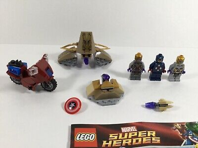 LEGO Superhero 6865 Captain America's Avenging Cycle Complete W/ NEW Manual 2012 • 10.56£