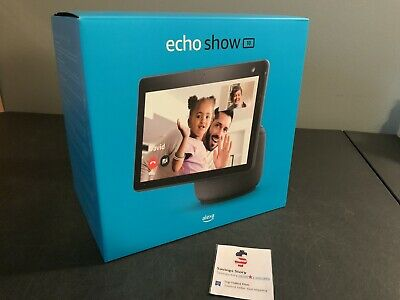 AU333.29 • Buy Echo Show 10(3rd Gen)| HD Smart Display With Motion And Alexa | Charcoal NEW