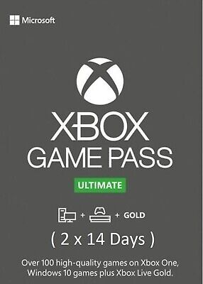 $ CDN5.95 • Buy Xbox Live 1 Month Gold + Game Pass Ultimate Membership ( 2 X 14 Days ) >GLOBAL<