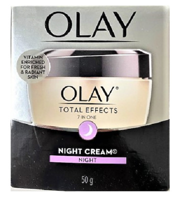 AU16.47 • Buy Olay Total Effects 7-in-1 Anti-Aging Night Firming Cream, 1.7 Oz - New