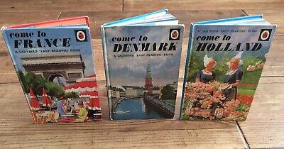 Come To France Denmark Holland Easy Reading 606G Ladybird Books • 9.99£