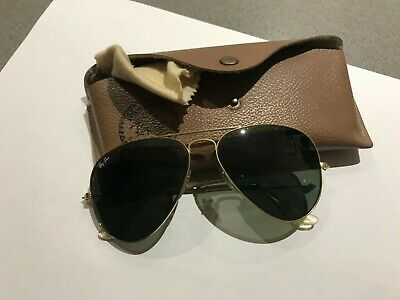 AU45.15 • Buy Vintage Authentic Ray-Ban Bausch & Lomb 80's Polarized Aviator Sunglasses 58mm