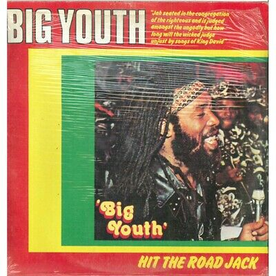 Big Youth LP Vinyl Hit The Road Jack/ Out St 25025 Sealed • 24.29£