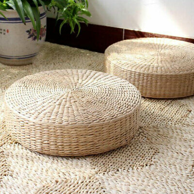 Yoga Mat Weaving Rattan Tatami Chair Cushion  Thick Straw Woven Rattan Rattan • 17.62£