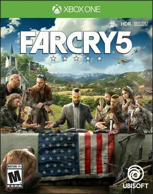 AU15.44 • Buy Far Cry 5 (Xbox One, 2018) *Game Disc Only VG