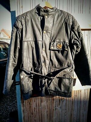 Waxed Cotton  Motorcycle Jacket And Trousers. Mascot, Medium. • 70£